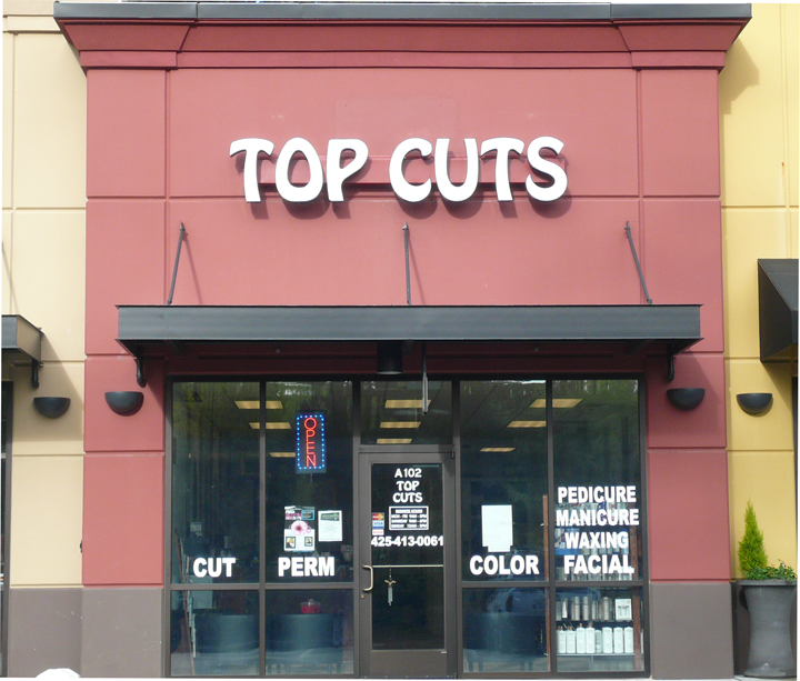 Top Cut Storefront